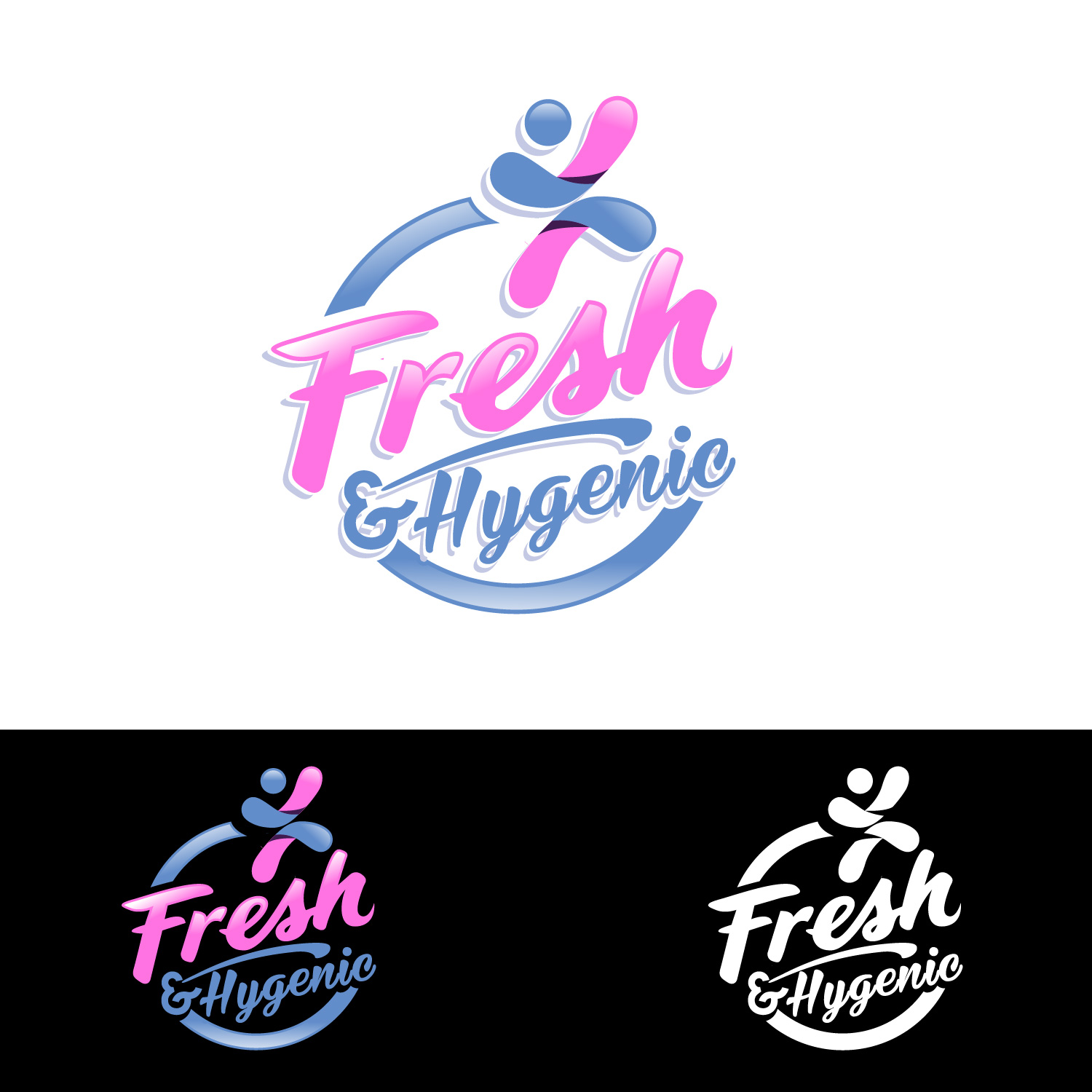Logo Design by lagalag - Entry No. 31 in the Logo Design Contest Fun Logo Design for Fresh & Hygenic.