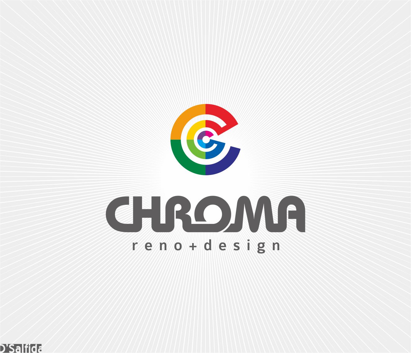 Logo Design by Armada Jamaluddin - Entry No. 128 in the Logo Design Contest Inspiring Logo Design for Chroma Reno+Design.