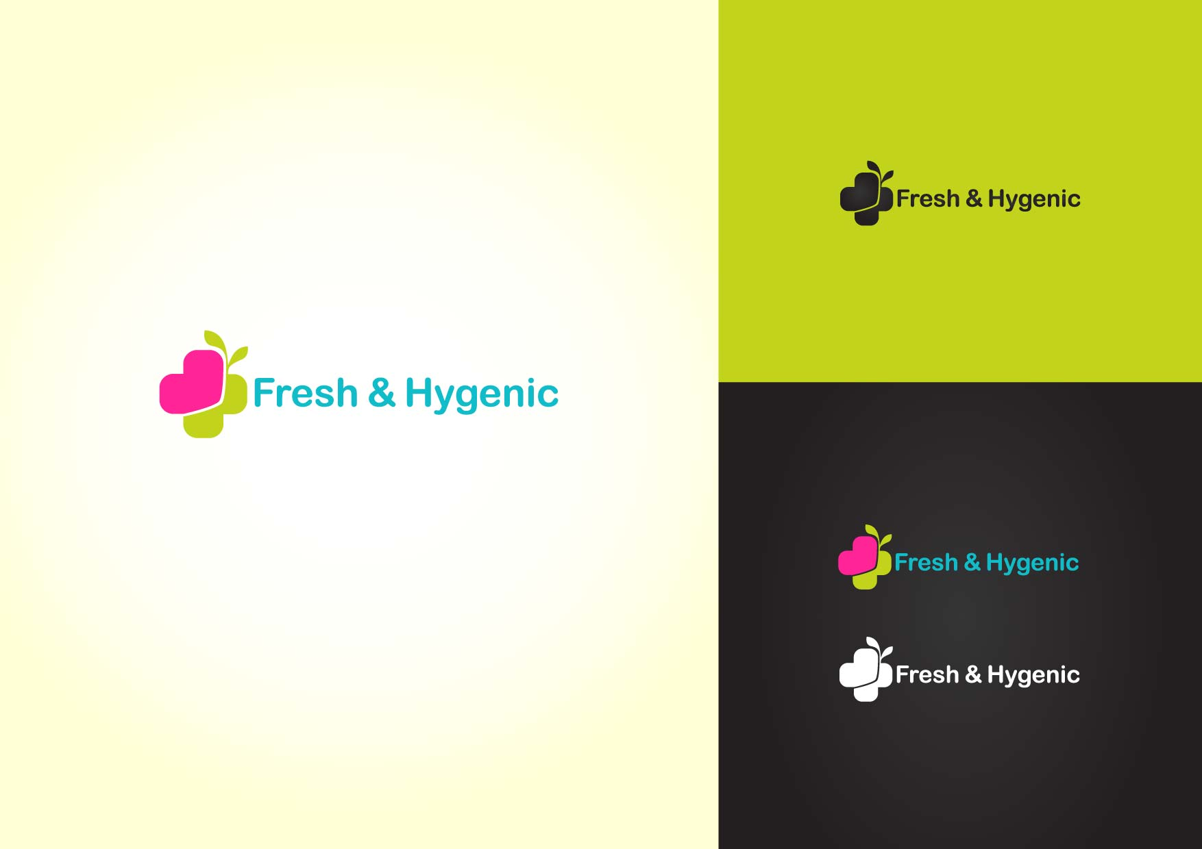 Logo Design by Osi Indra - Entry No. 32 in the Logo Design Contest Fun Logo Design for Fresh & Hygenic.