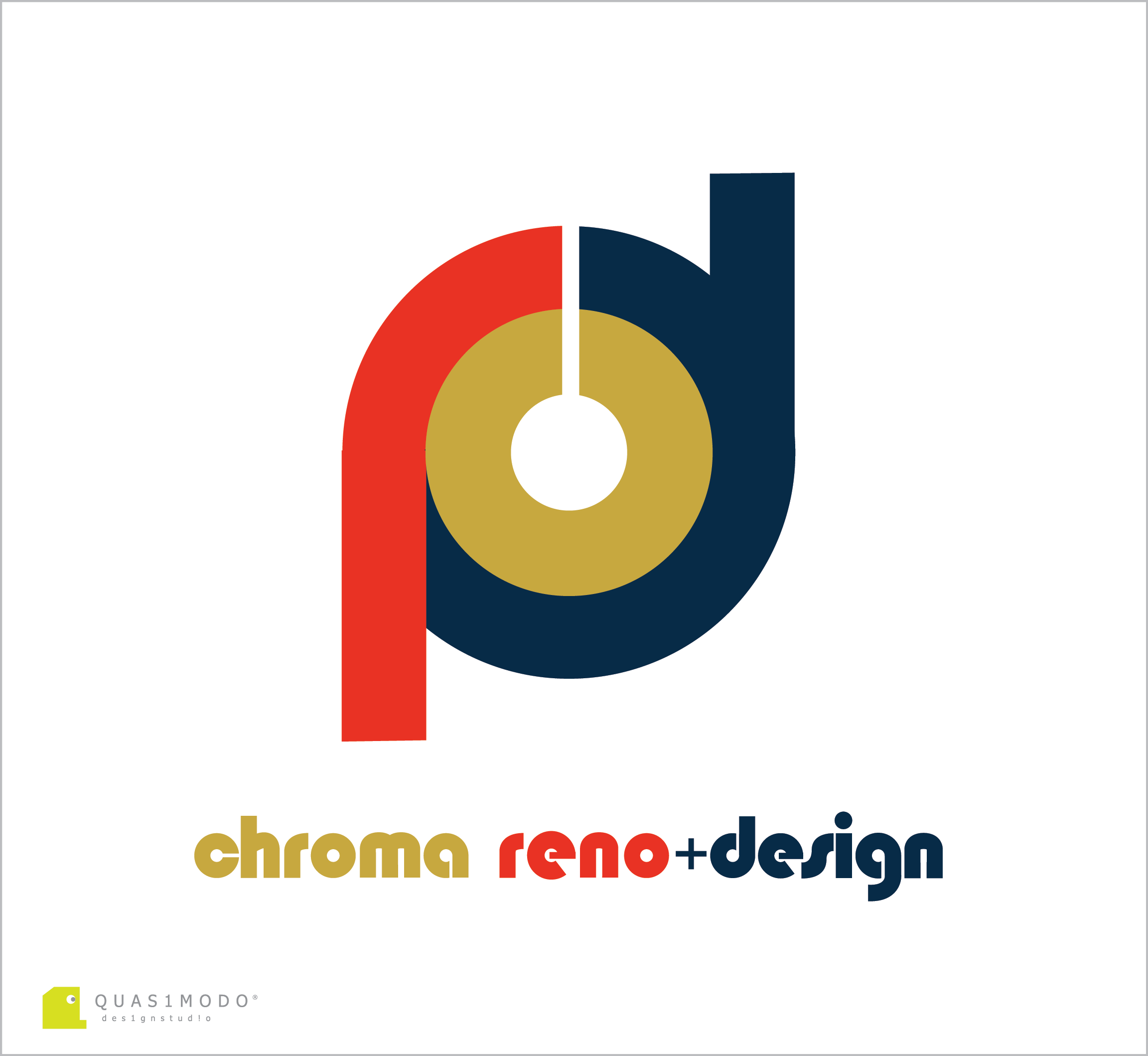 Logo Design by DIMITRIOS PAPADOPOULOS - Entry No. 129 in the Logo Design Contest Inspiring Logo Design for Chroma Reno+Design.