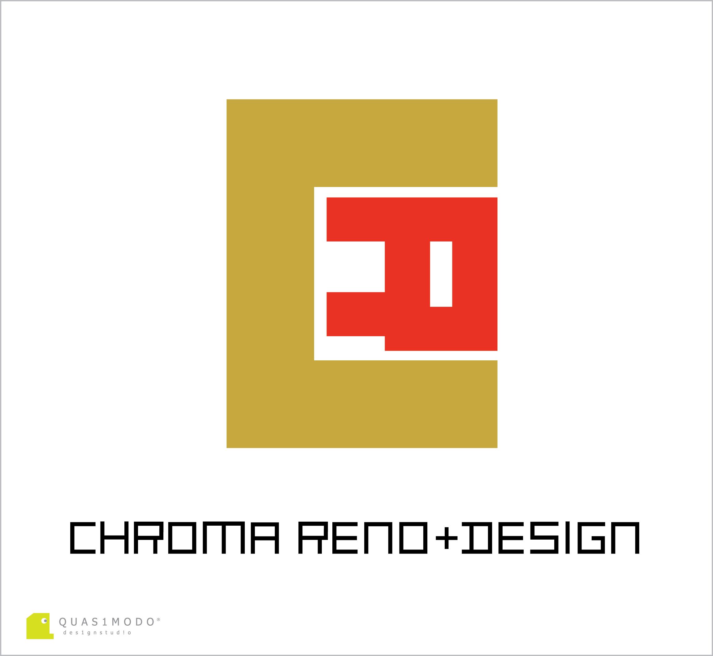 Logo Design by DIMITRIOS PAPADOPOULOS - Entry No. 133 in the Logo Design Contest Inspiring Logo Design for Chroma Reno+Design.