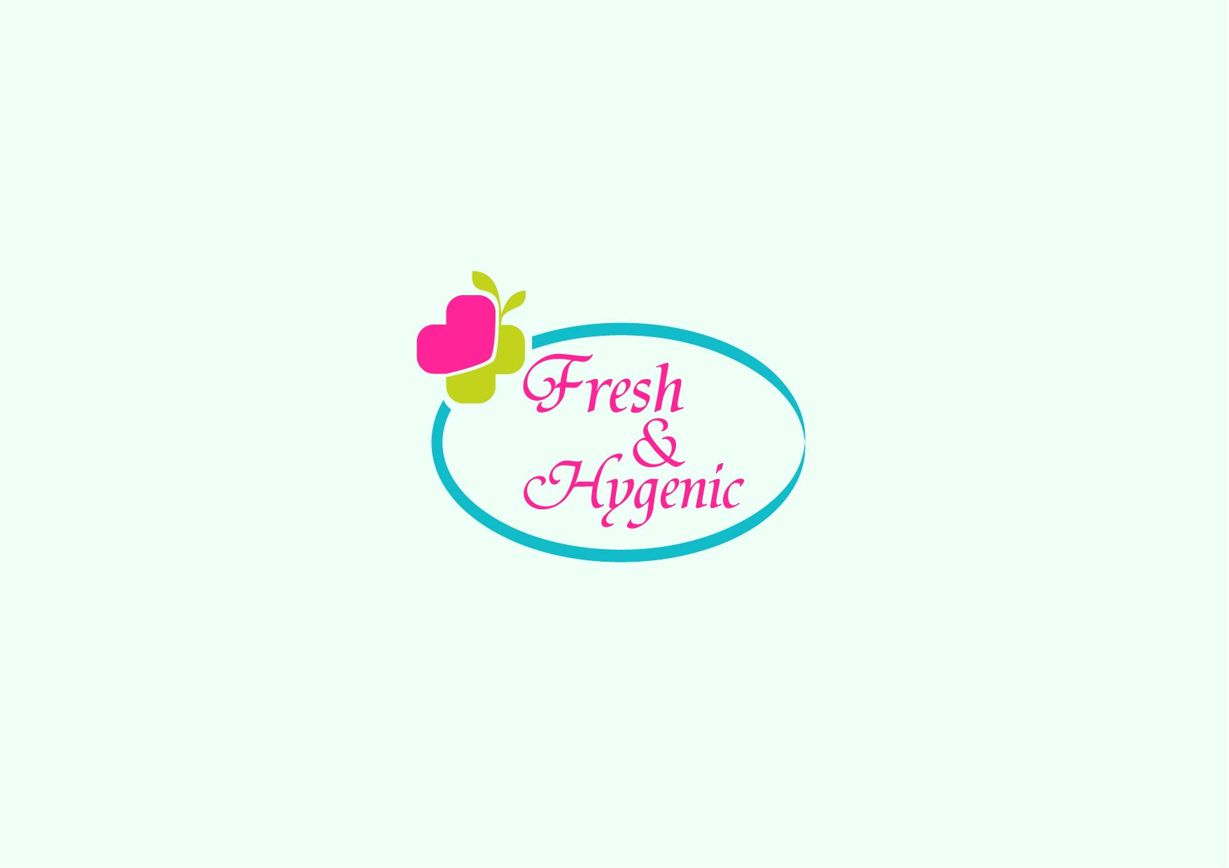 Logo Design by Osi Indra - Entry No. 39 in the Logo Design Contest Fun Logo Design for Fresh & Hygenic.