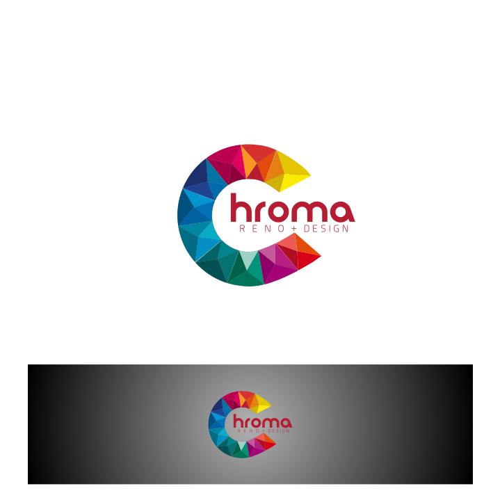 Logo Design by graphicleaf - Entry No. 139 in the Logo Design Contest Inspiring Logo Design for Chroma Reno+Design.