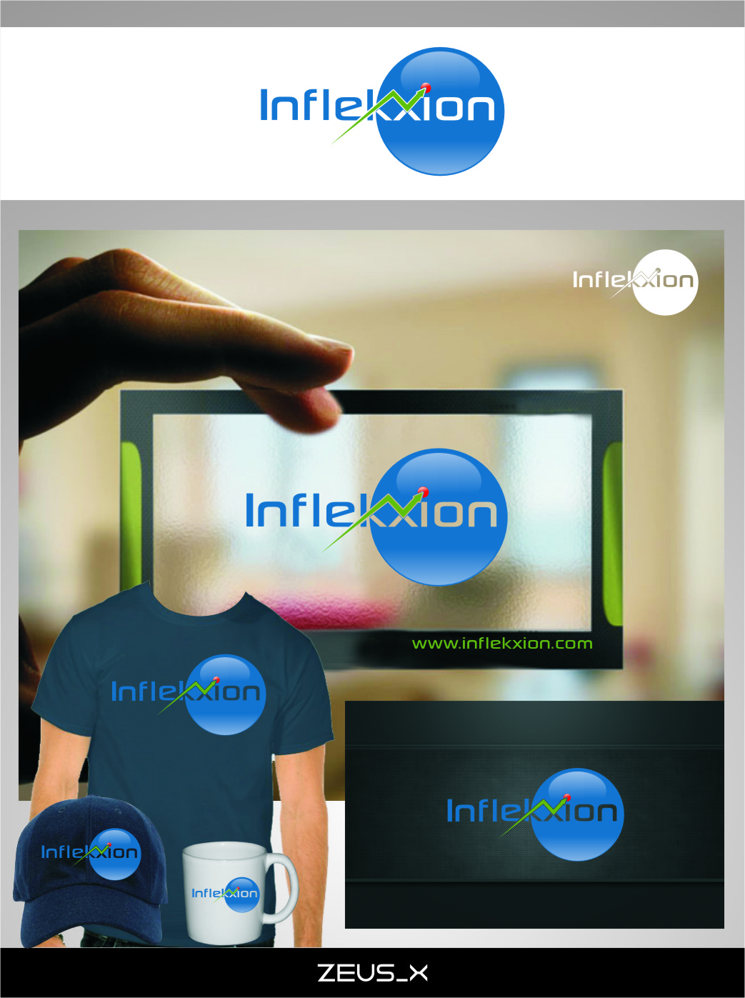 Logo Design by RasYa Muhammad Athaya - Entry No. 123 in the Logo Design Contest Professional Logo Design for Inflekxion.