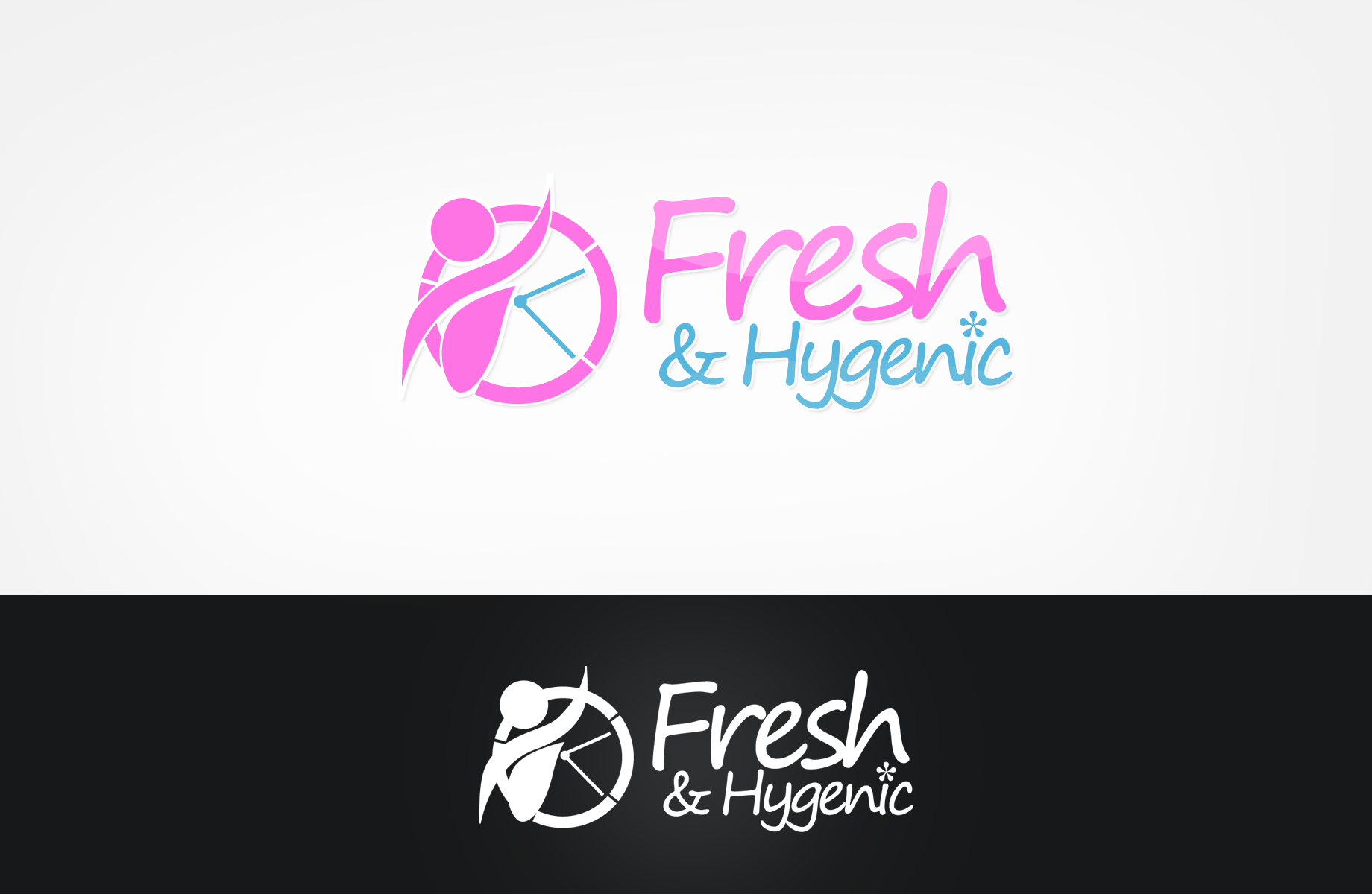 Logo Design by Jan Chua - Entry No. 42 in the Logo Design Contest Fun Logo Design for Fresh & Hygenic.