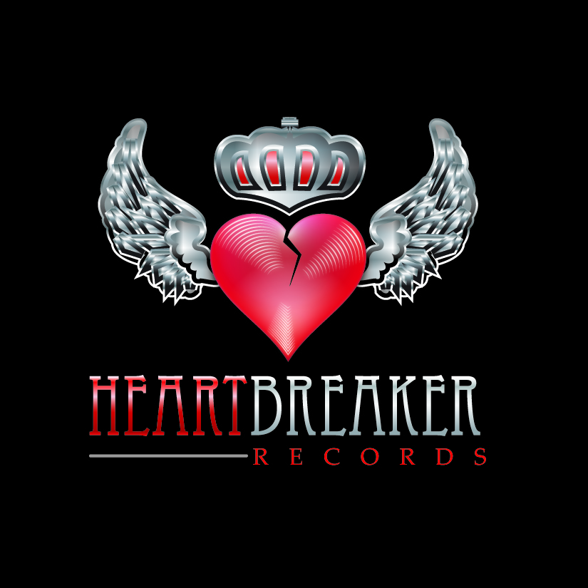 Logo Design by DayDream - Entry No. 35 in the Logo Design Contest Heartbreaker Records.