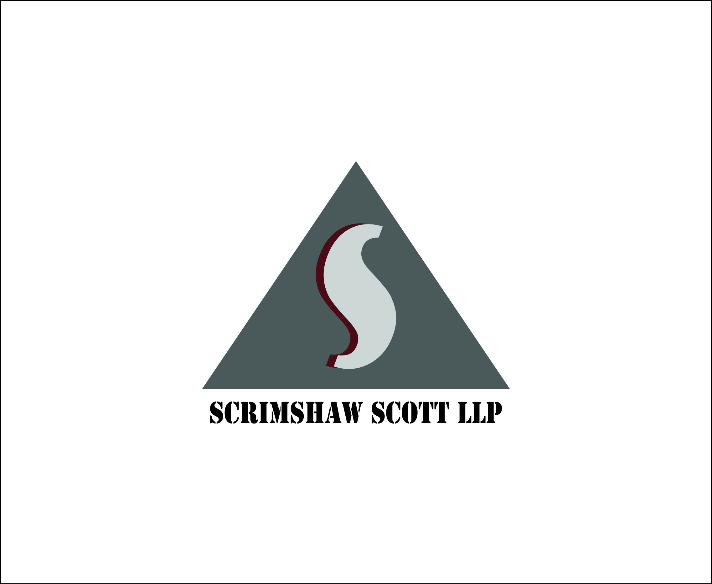 Logo Design by Agus Martoyo - Entry No. 91 in the Logo Design Contest Creative Logo Design for Scrimshaw Scott LLP.
