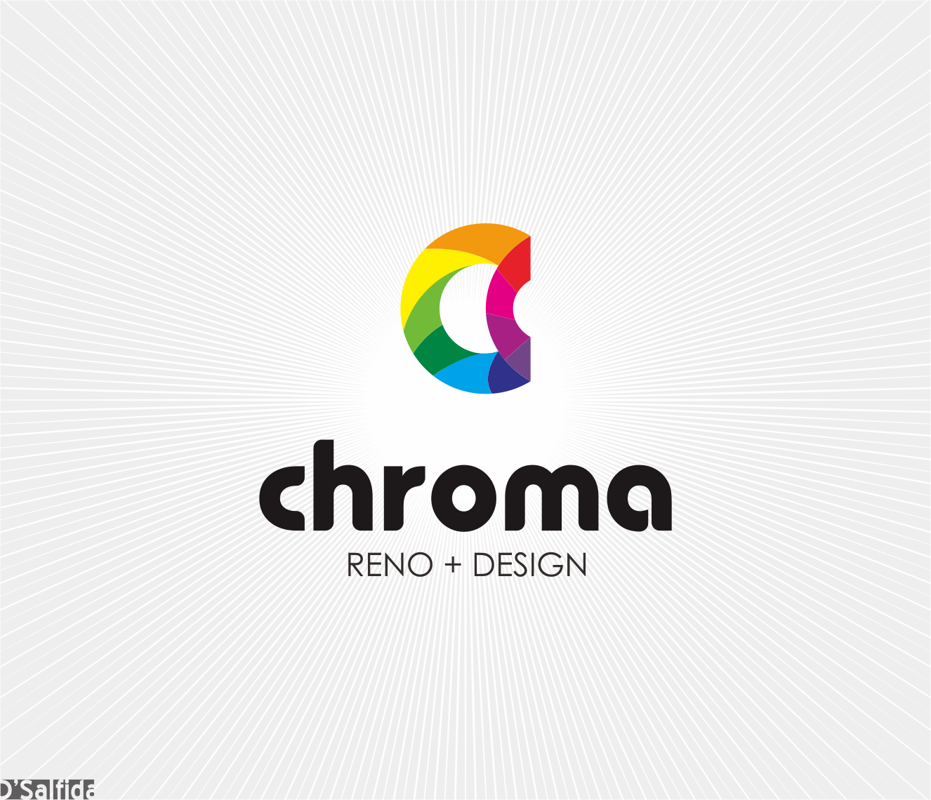 Logo Design by Armada Jamaluddin - Entry No. 144 in the Logo Design Contest Inspiring Logo Design for Chroma Reno+Design.