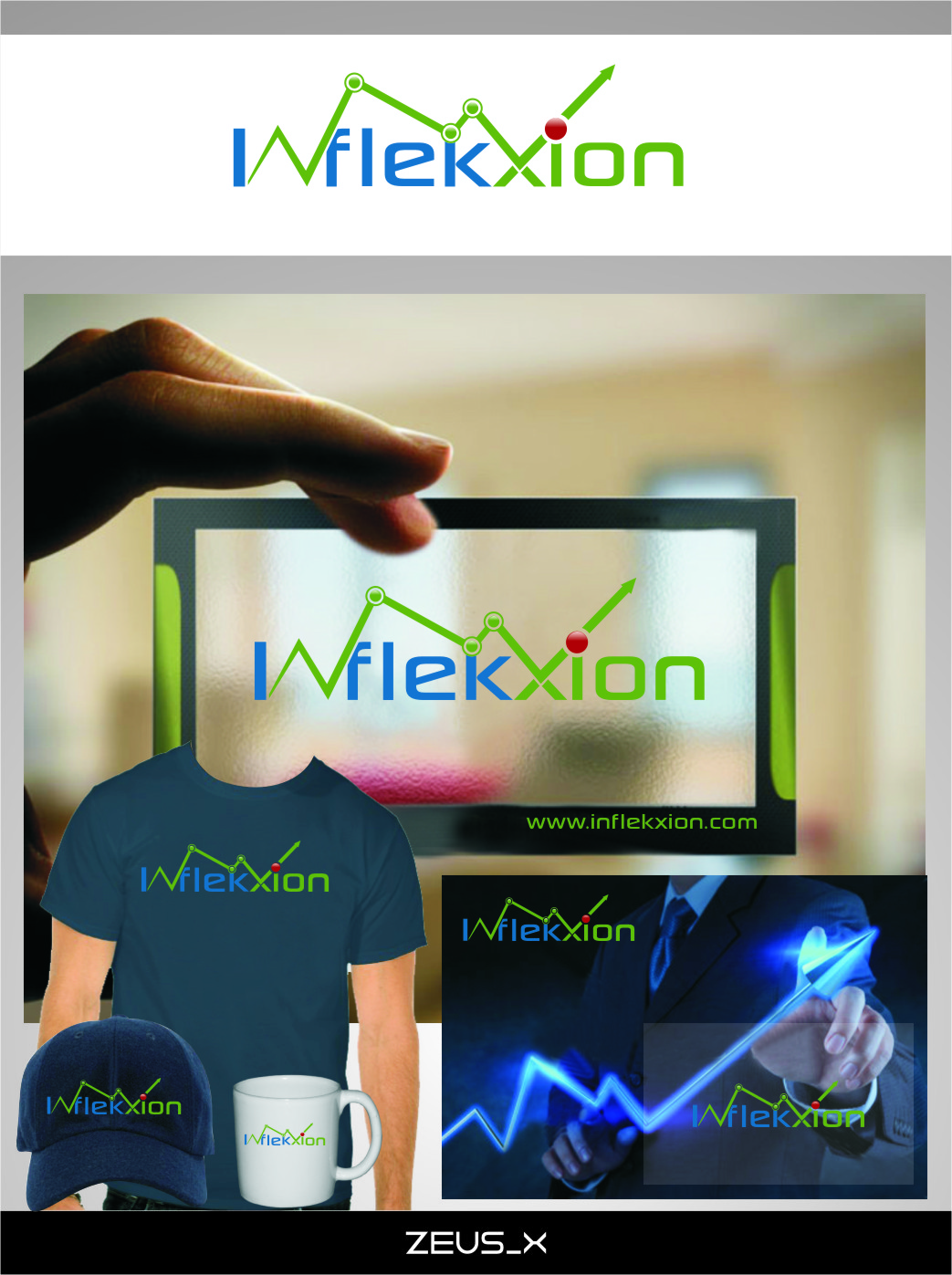 Logo Design by RasYa Muhammad Athaya - Entry No. 138 in the Logo Design Contest Professional Logo Design for Inflekxion.