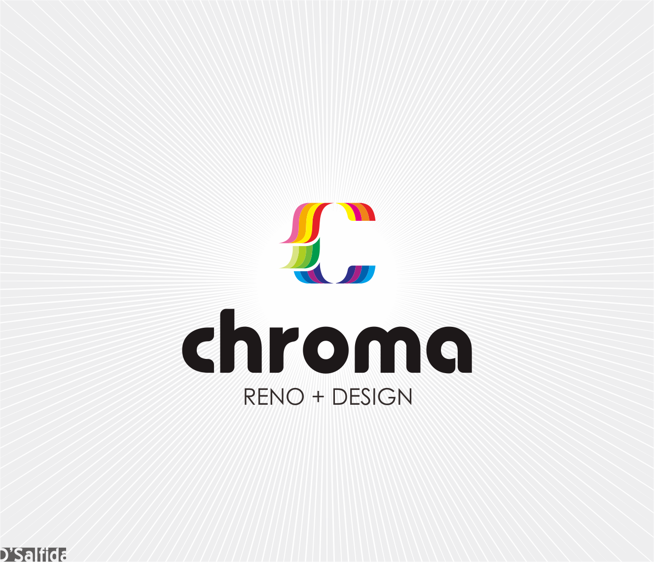 Logo Design by Armada Jamaluddin - Entry No. 146 in the Logo Design Contest Inspiring Logo Design for Chroma Reno+Design.