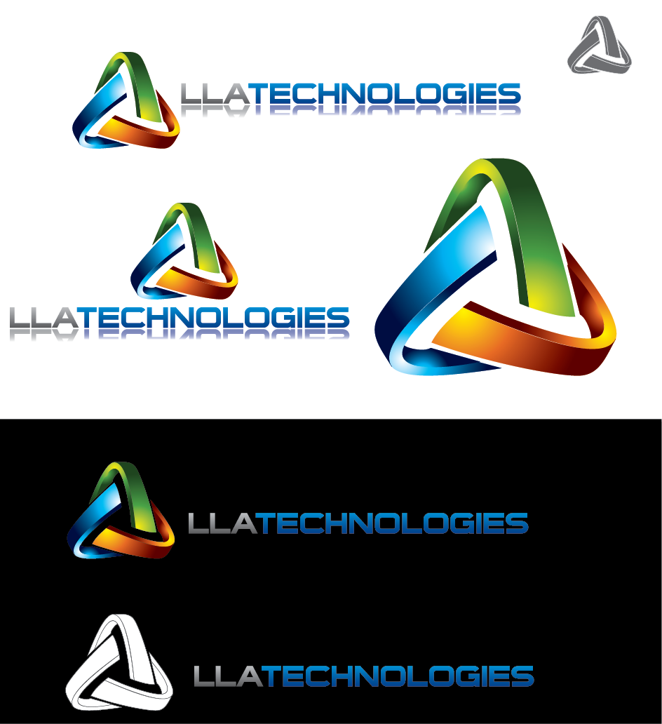 Logo Design by Private User - Entry No. 54 in the Logo Design Contest Inspiring Logo Design for LLA Technologies Inc..
