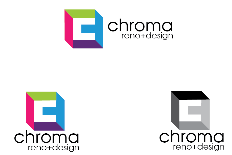 Logo Design by Private User - Entry No. 149 in the Logo Design Contest Inspiring Logo Design for Chroma Reno+Design.