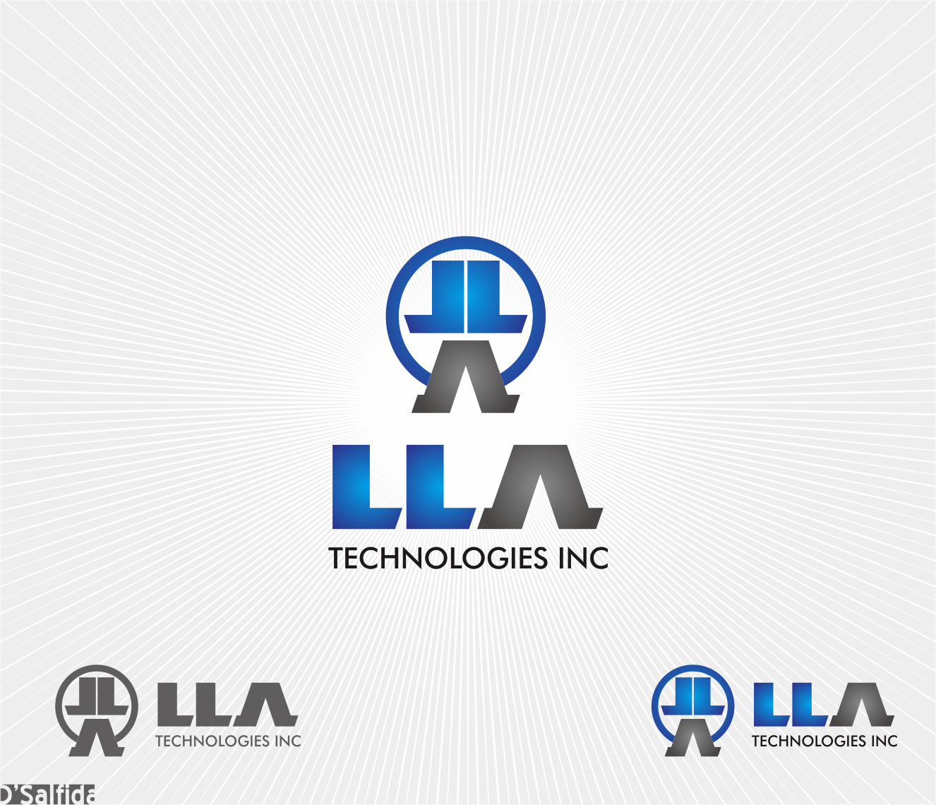 Logo Design by Armada Jamaluddin - Entry No. 60 in the Logo Design Contest Inspiring Logo Design for LLA Technologies Inc..