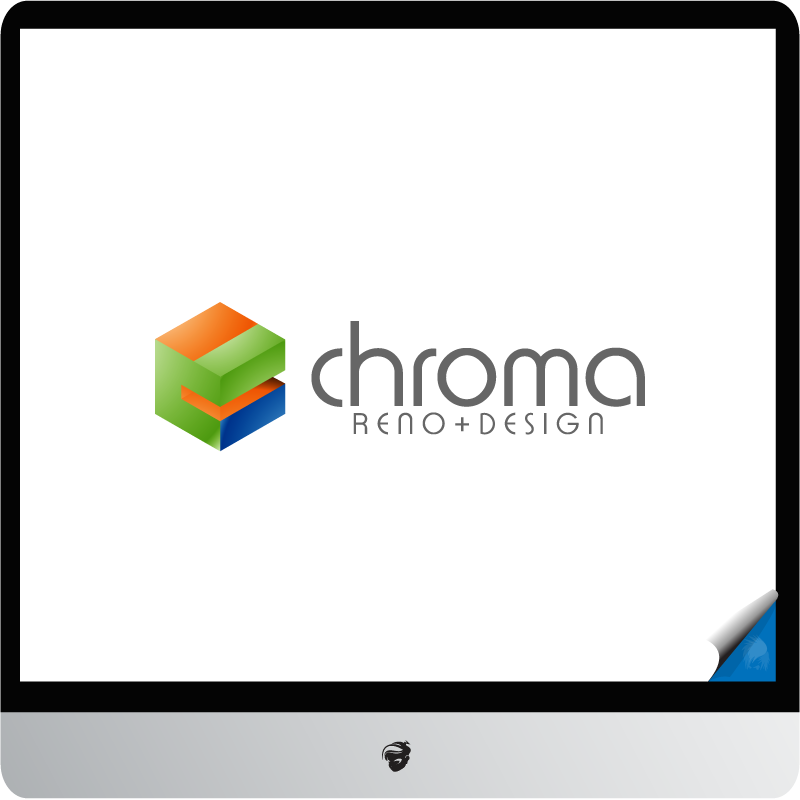 Logo Design by zesthar - Entry No. 154 in the Logo Design Contest Inspiring Logo Design for Chroma Reno+Design.