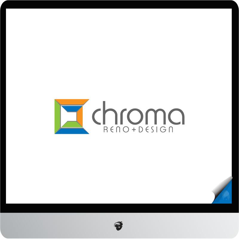 Logo Design by zesthar - Entry No. 156 in the Logo Design Contest Inspiring Logo Design for Chroma Reno+Design.