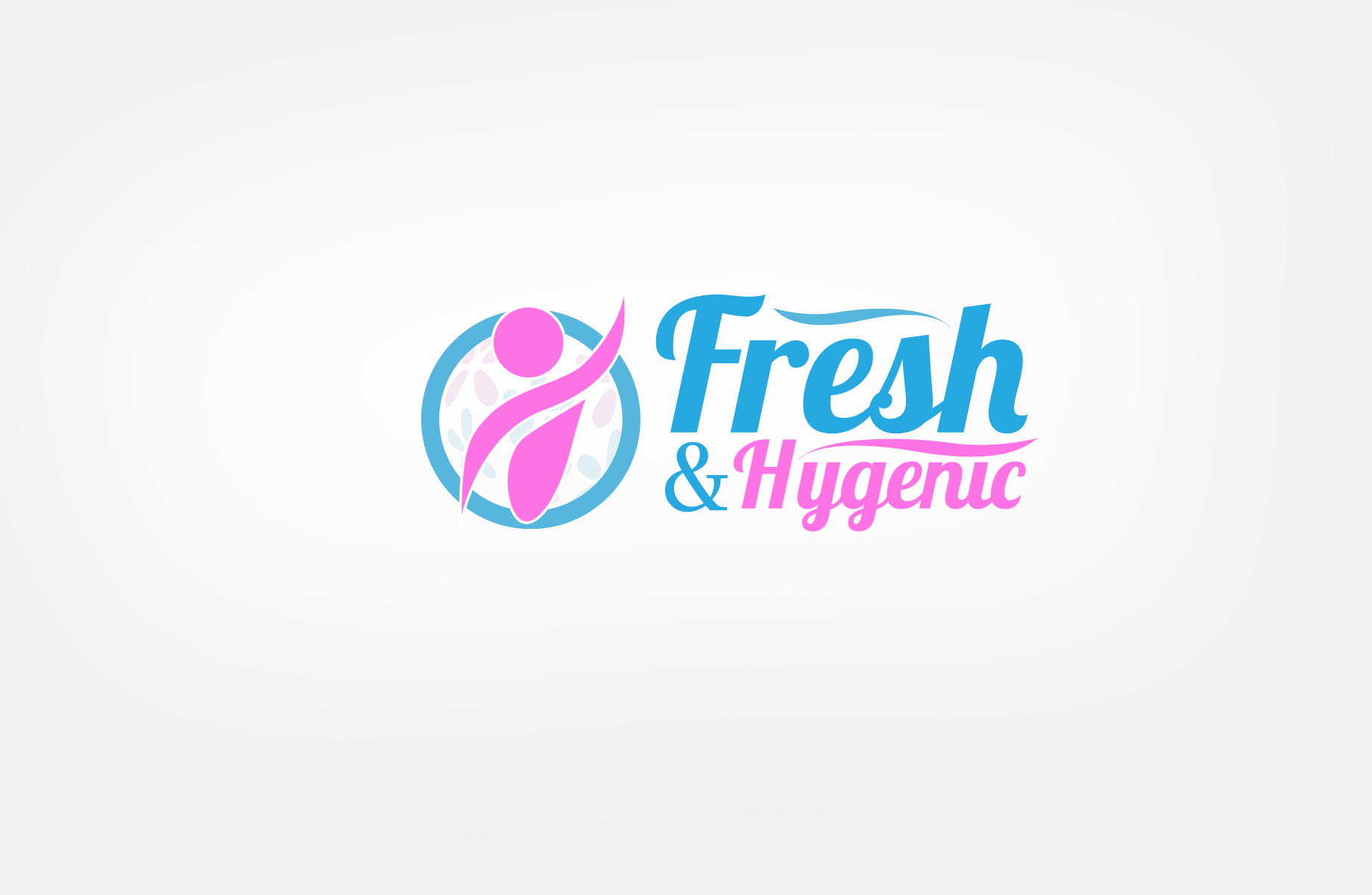 Logo Design by Jan Chua - Entry No. 54 in the Logo Design Contest Fun Logo Design for Fresh & Hygenic.