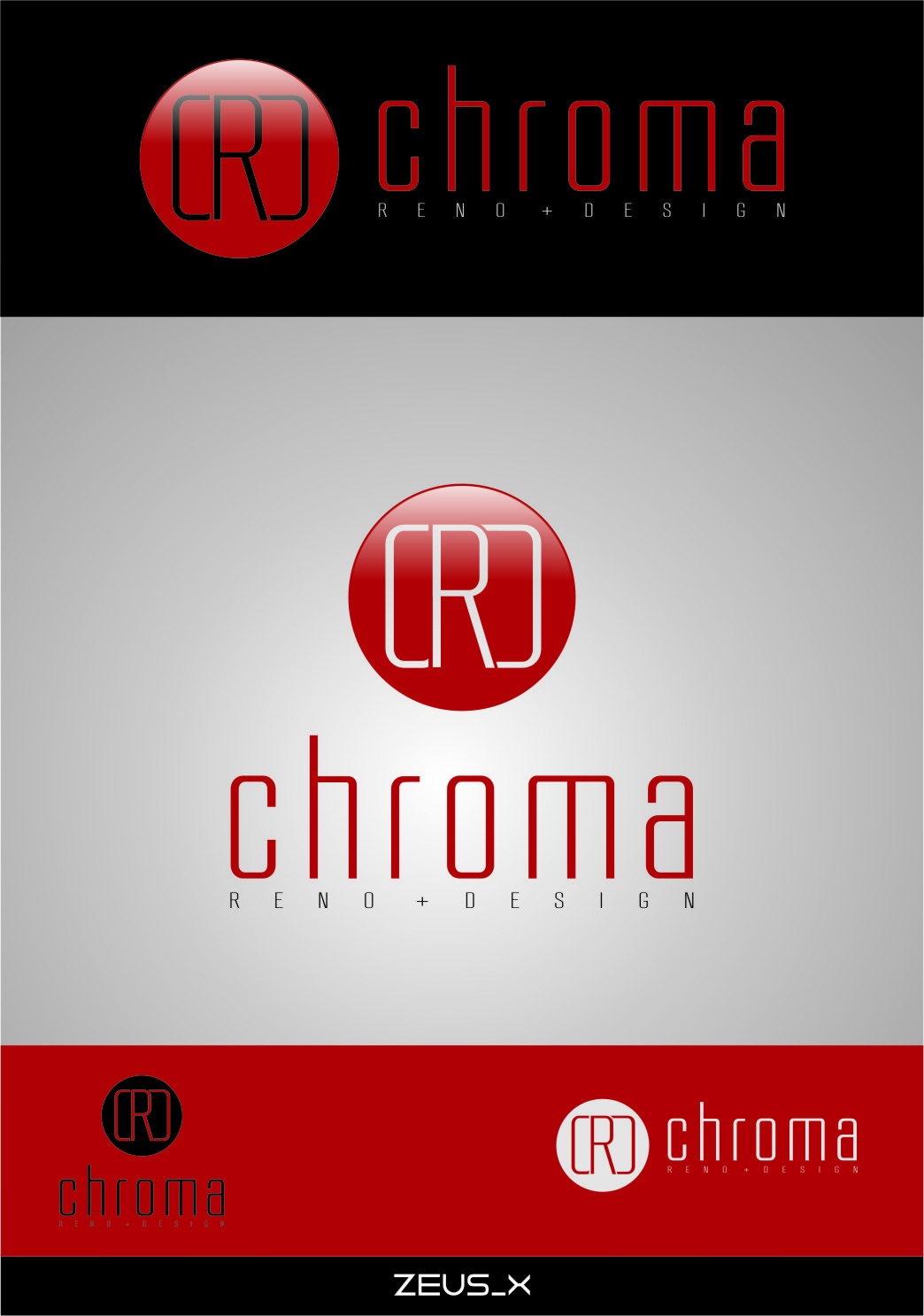 Logo Design by RasYa Muhammad Athaya - Entry No. 160 in the Logo Design Contest Inspiring Logo Design for Chroma Reno+Design.