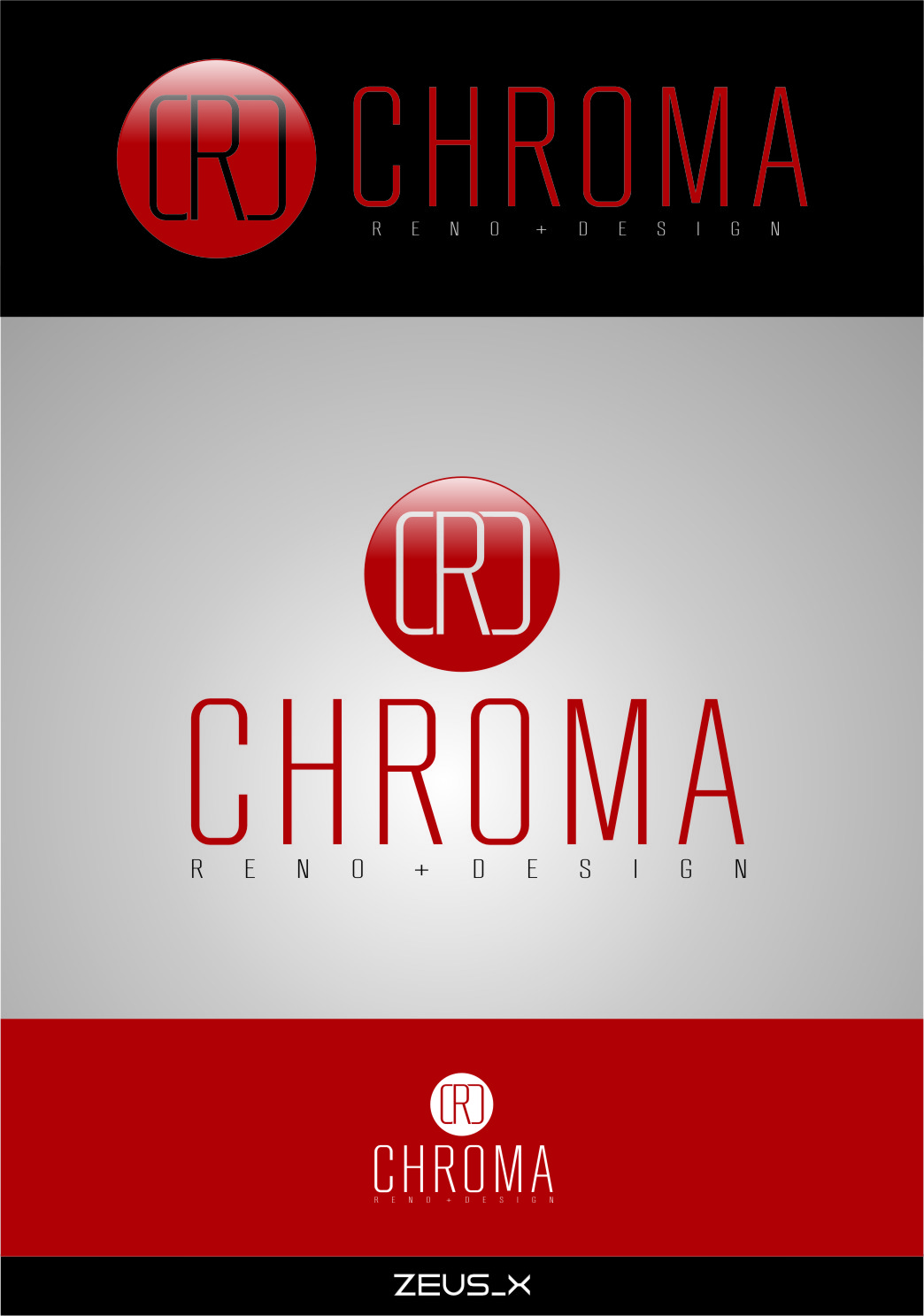 Logo Design by RasYa Muhammad Athaya - Entry No. 161 in the Logo Design Contest Inspiring Logo Design for Chroma Reno+Design.
