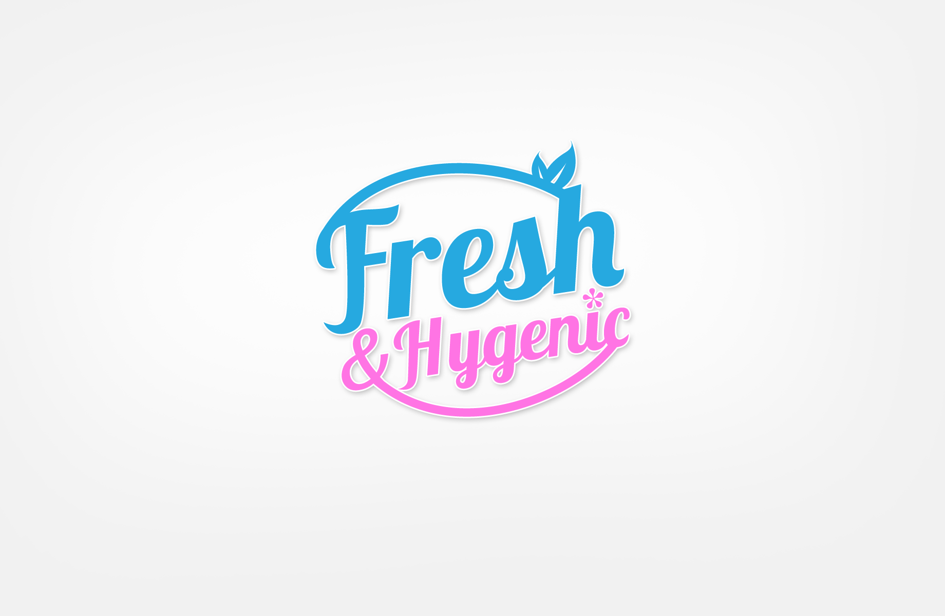 Logo Design by Jan Chua - Entry No. 55 in the Logo Design Contest Fun Logo Design for Fresh & Hygenic.