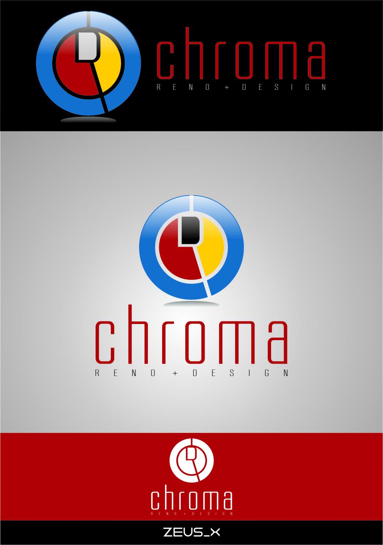 Logo Design by RasYa Muhammad Athaya - Entry No. 162 in the Logo Design Contest Inspiring Logo Design for Chroma Reno+Design.