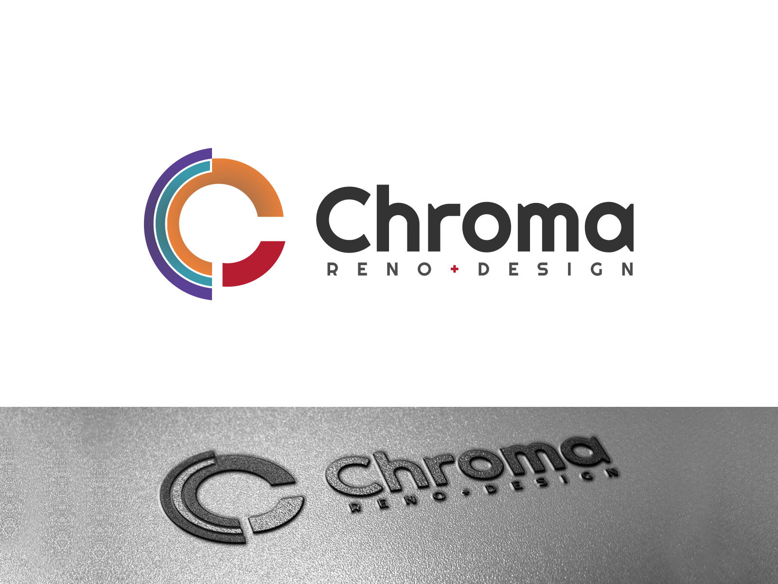 Logo Design by olii - Entry No. 166 in the Logo Design Contest Inspiring Logo Design for Chroma Reno+Design.