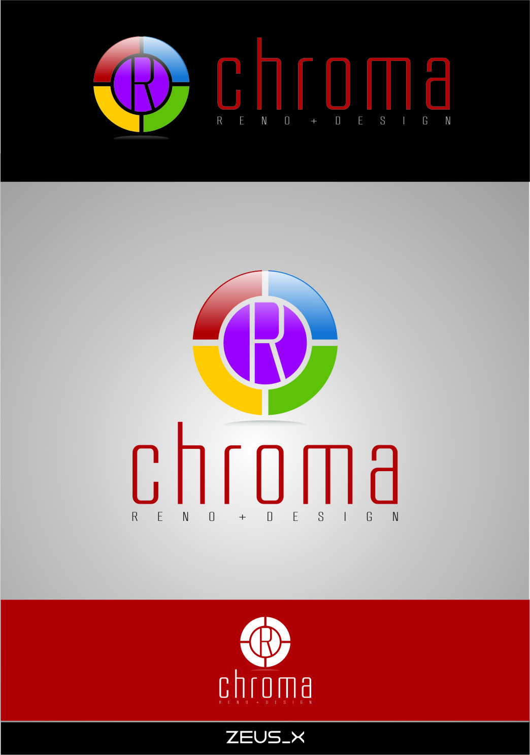 Logo Design by RasYa Muhammad Athaya - Entry No. 168 in the Logo Design Contest Inspiring Logo Design for Chroma Reno+Design.