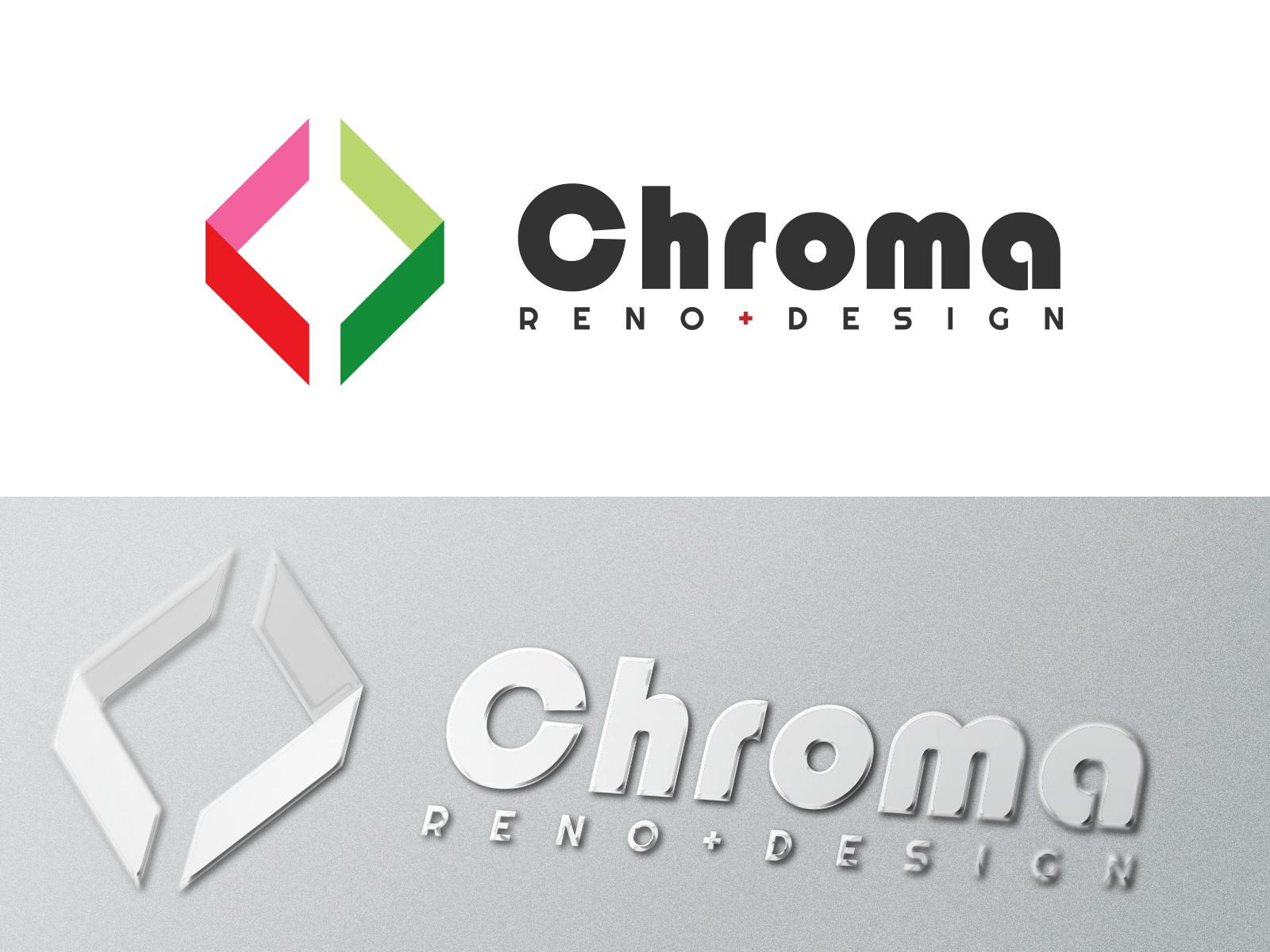 Logo Design by olii - Entry No. 169 in the Logo Design Contest Inspiring Logo Design for Chroma Reno+Design.