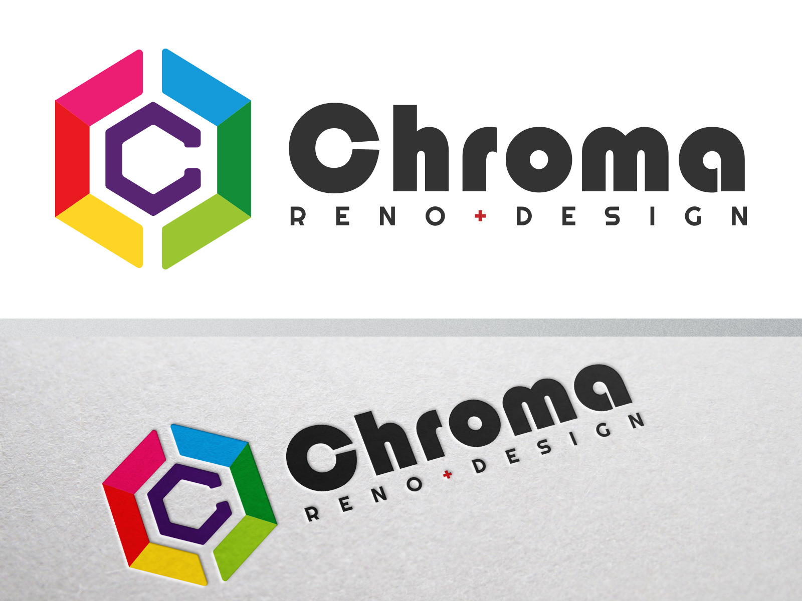 Logo Design by olii - Entry No. 170 in the Logo Design Contest Inspiring Logo Design for Chroma Reno+Design.