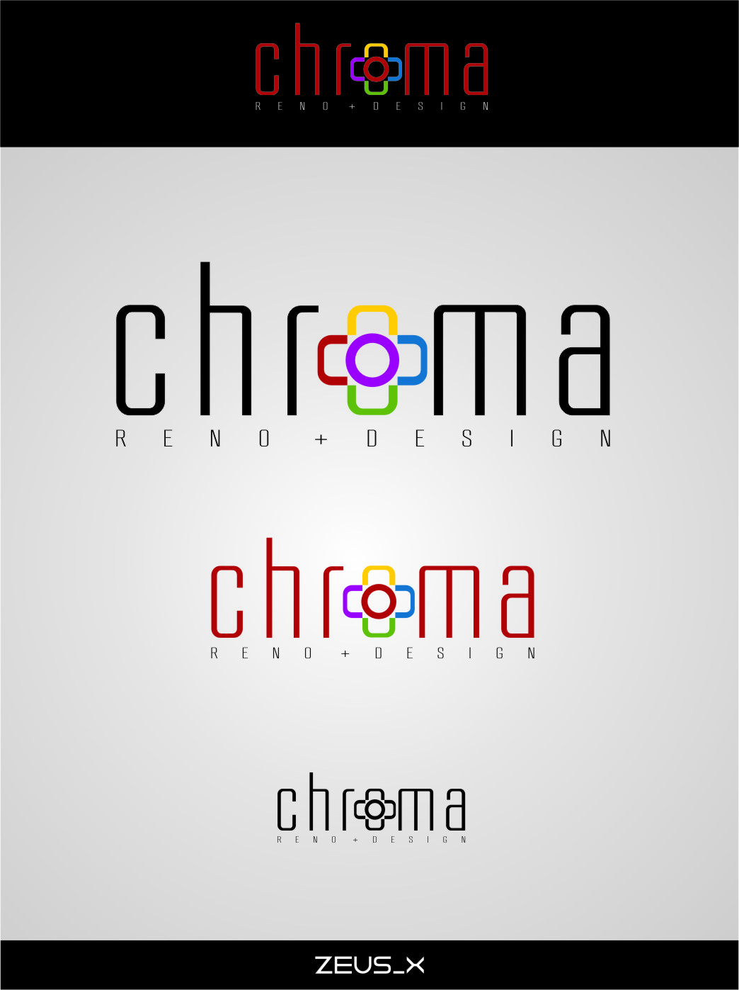 Logo Design by RasYa Muhammad Athaya - Entry No. 171 in the Logo Design Contest Inspiring Logo Design for Chroma Reno+Design.