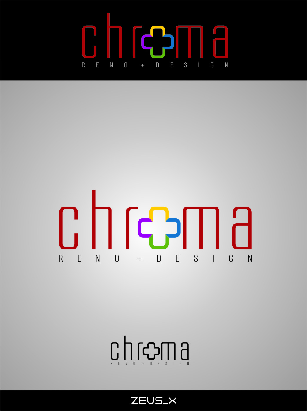 Logo Design by RoSyid Rono-Rene On Java - Entry No. 172 in the Logo Design Contest Inspiring Logo Design for Chroma Reno+Design.