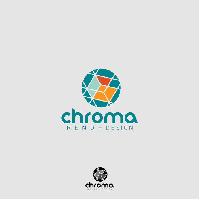 Logo Design by Muhammad Nasrul chasib - Entry No. 173 in the Logo Design Contest Inspiring Logo Design for Chroma Reno+Design.