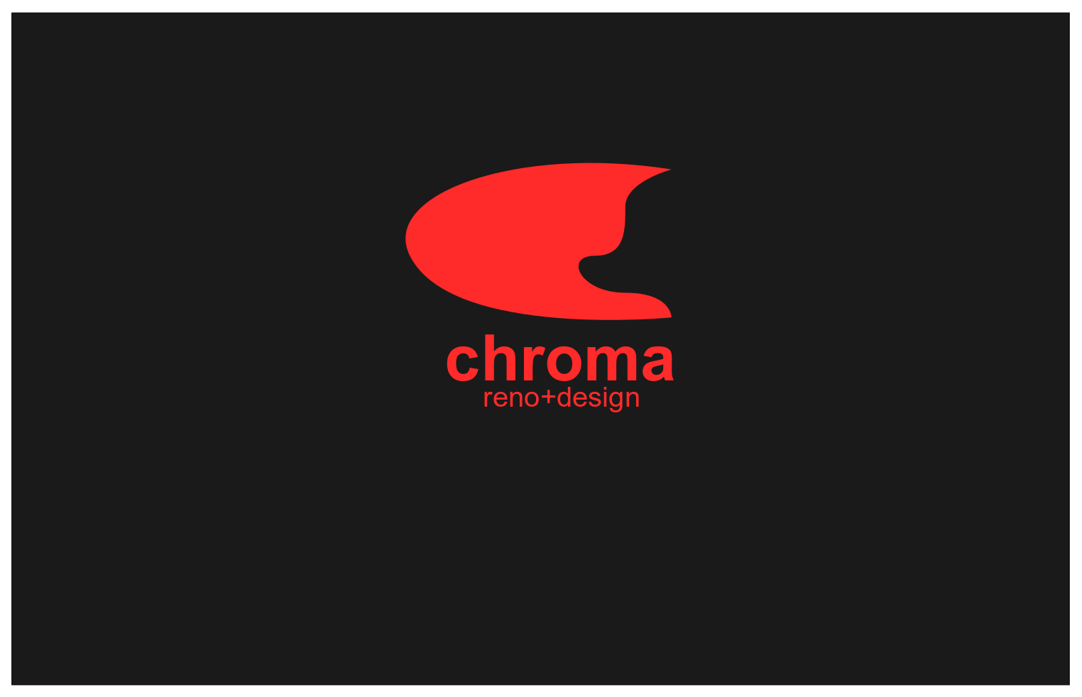 Logo Design by JaroslavProcka - Entry No. 174 in the Logo Design Contest Inspiring Logo Design for Chroma Reno+Design.