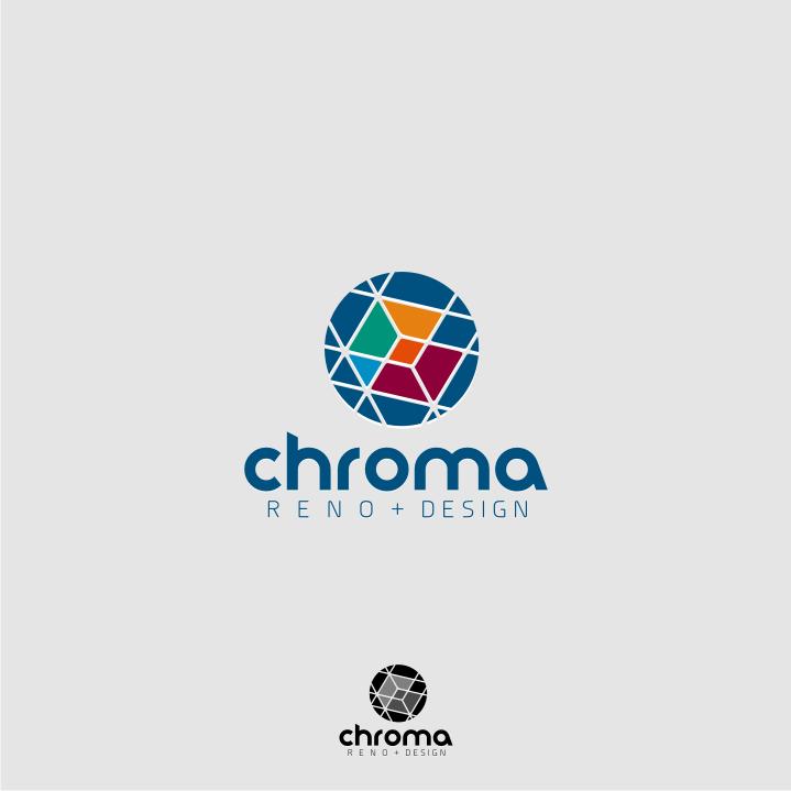 Logo Design by graphicleaf - Entry No. 175 in the Logo Design Contest Inspiring Logo Design for Chroma Reno+Design.