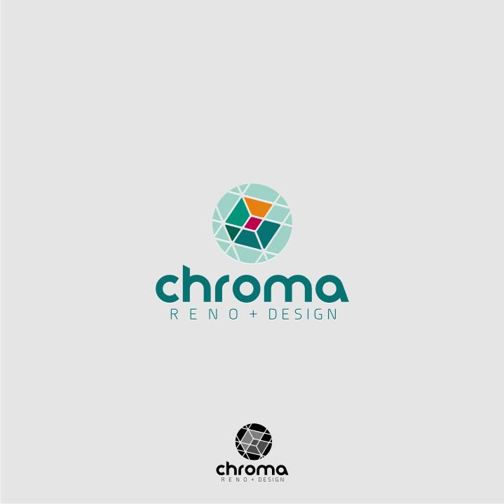 Logo Design by graphicleaf - Entry No. 176 in the Logo Design Contest Inspiring Logo Design for Chroma Reno+Design.