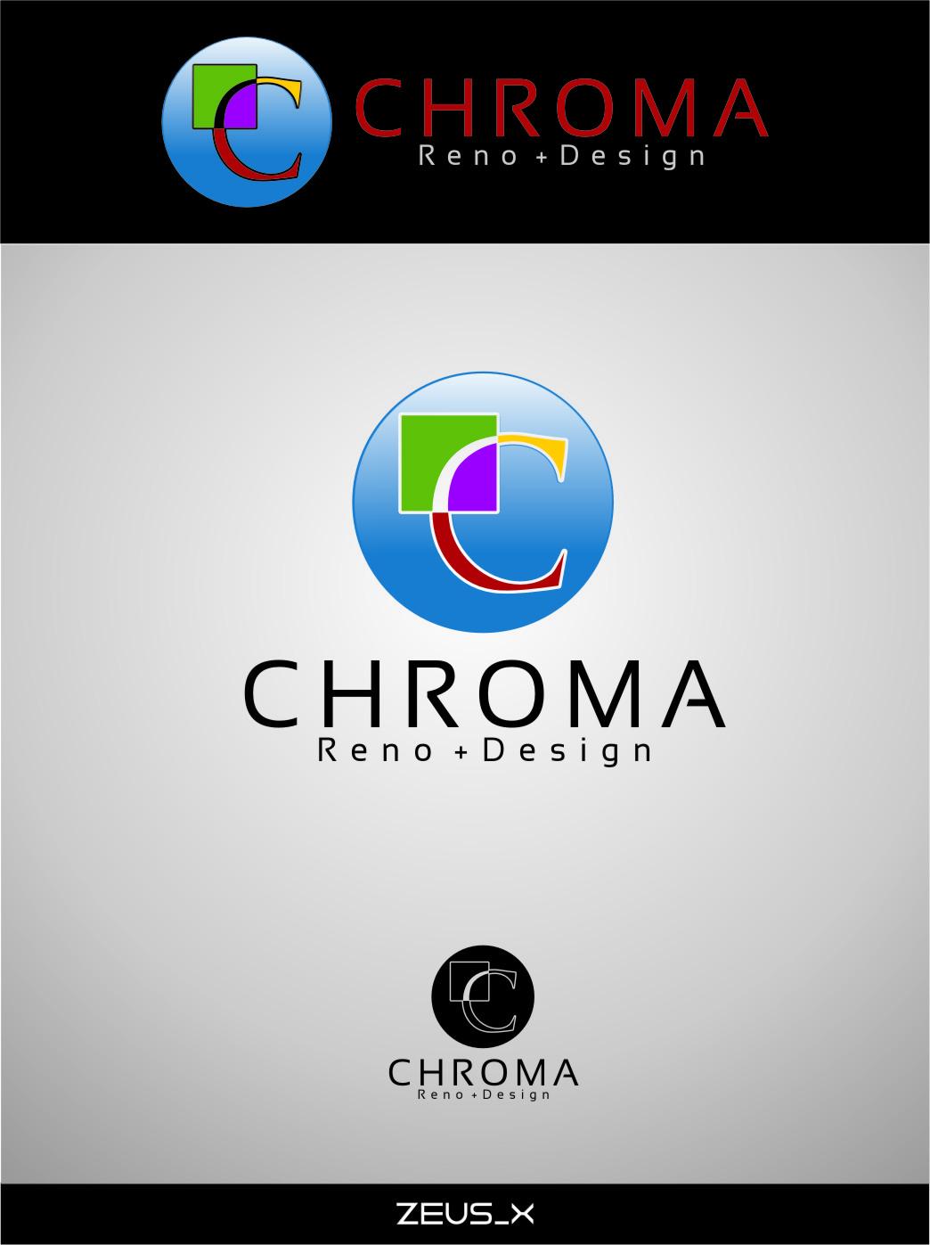 Logo Design by Ngepet_art - Entry No. 177 in the Logo Design Contest Inspiring Logo Design for Chroma Reno+Design.