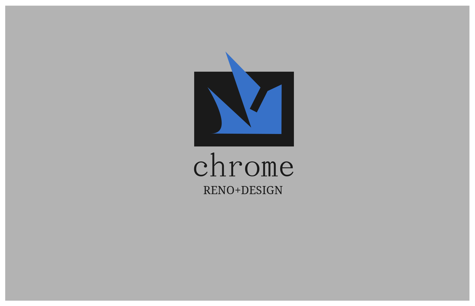 Logo Design by JaroslavProcka - Entry No. 178 in the Logo Design Contest Inspiring Logo Design for Chroma Reno+Design.