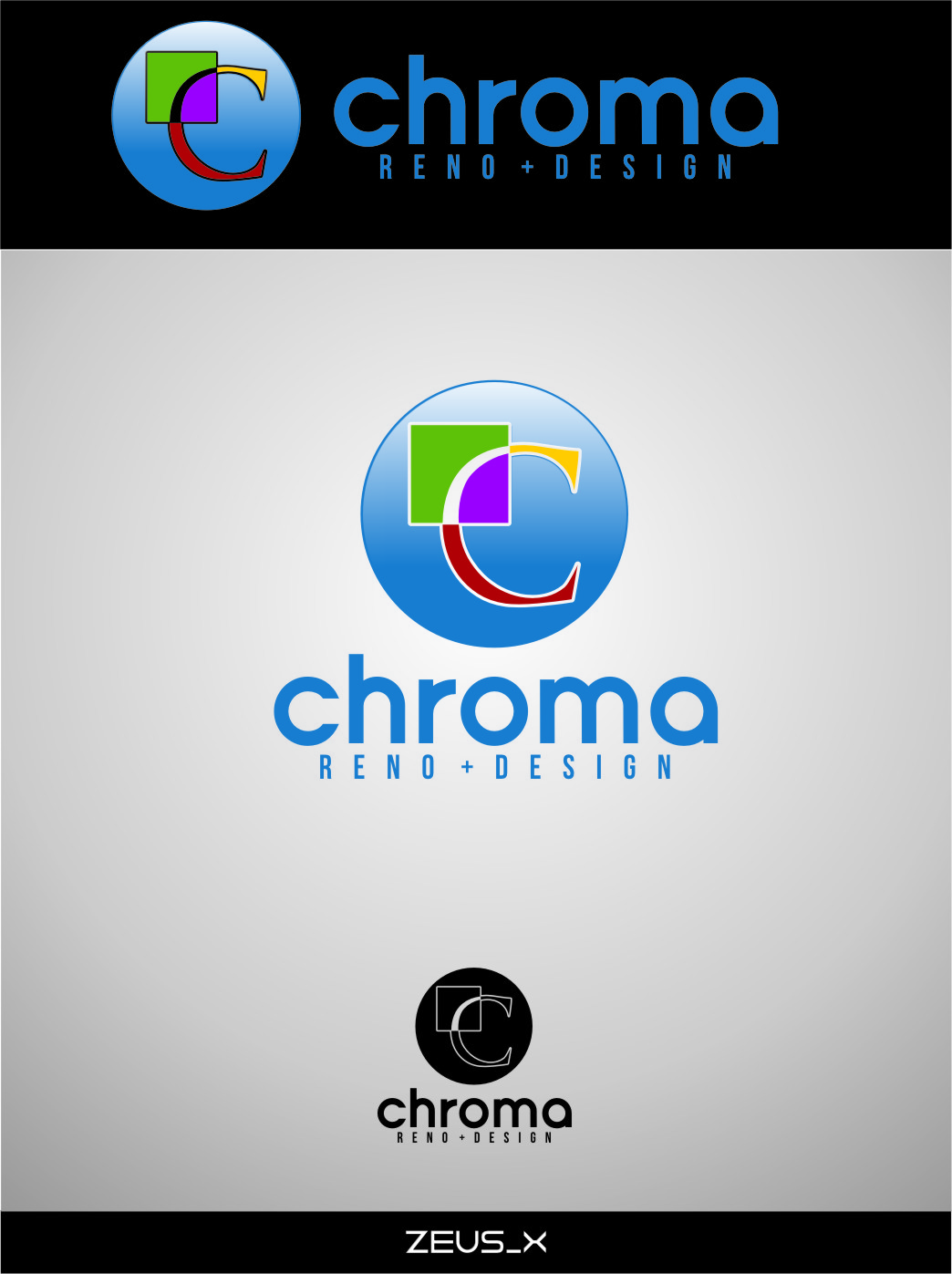 Logo Design by RoSyid Rono-Rene On Java - Entry No. 179 in the Logo Design Contest Inspiring Logo Design for Chroma Reno+Design.