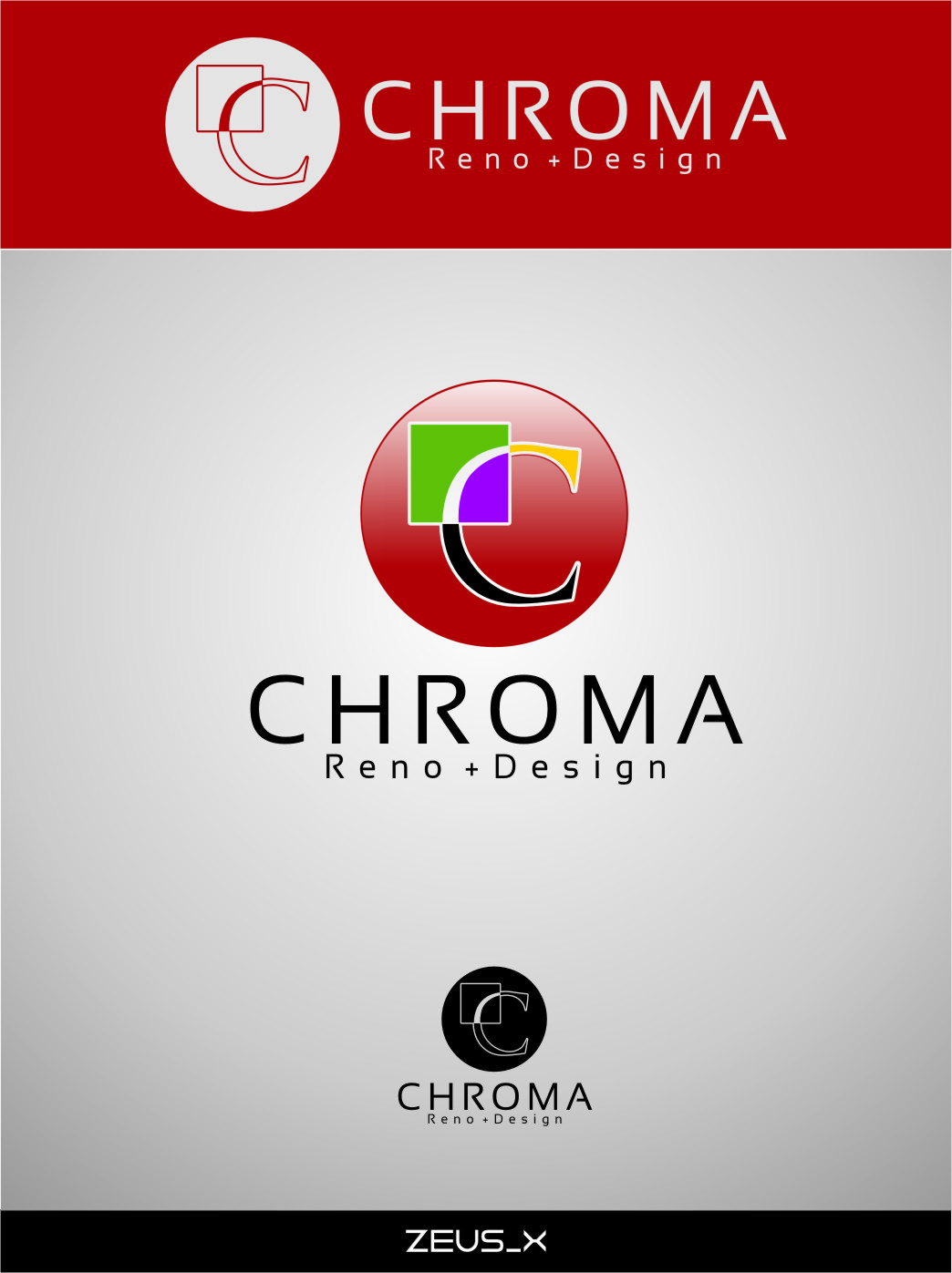 Logo Design by RasYa Muhammad Athaya - Entry No. 180 in the Logo Design Contest Inspiring Logo Design for Chroma Reno+Design.