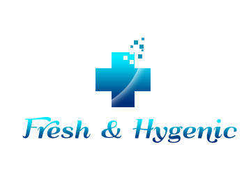 Logo Design by Crystal Desizns - Entry No. 60 in the Logo Design Contest Fun Logo Design for Fresh & Hygenic.