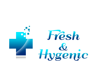 Logo Design by Crystal Desizns - Entry No. 61 in the Logo Design Contest Fun Logo Design for Fresh & Hygenic.