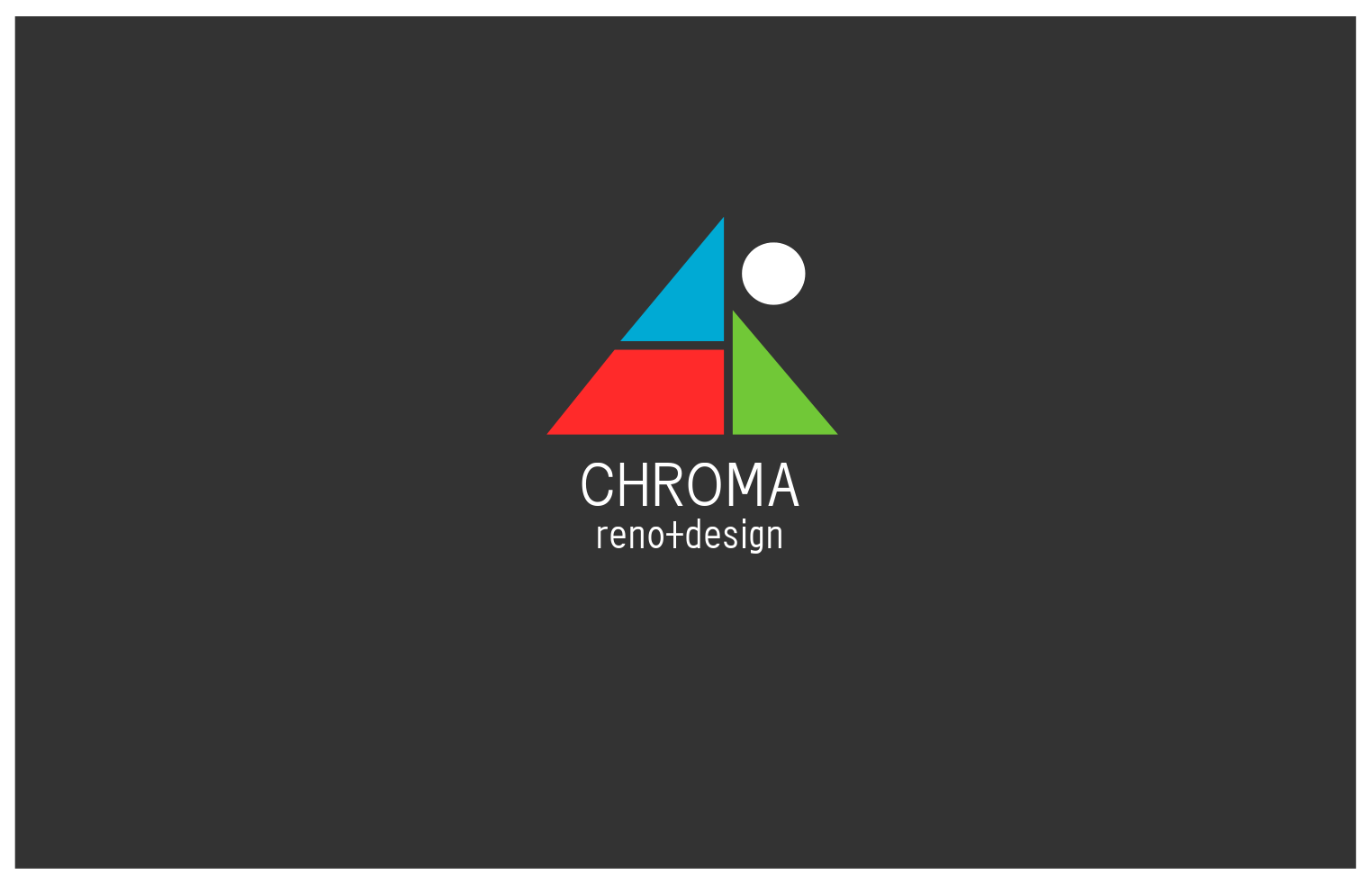 Logo Design by JaroslavProcka - Entry No. 182 in the Logo Design Contest Inspiring Logo Design for Chroma Reno+Design.
