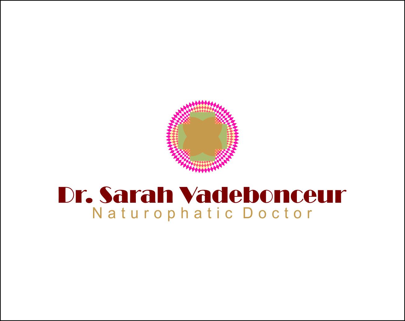 Logo Design by Agus Martoyo - Entry No. 48 in the Logo Design Contest New Logo Design for Dr. Sarah Vadeboncoeur, Naturopathic Doctor.