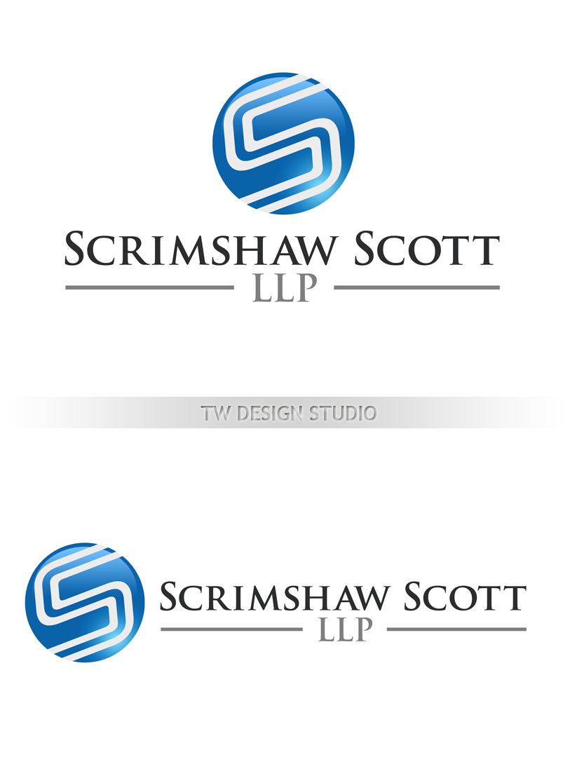 Logo Design by Private User - Entry No. 94 in the Logo Design Contest Creative Logo Design for Scrimshaw Scott LLP.