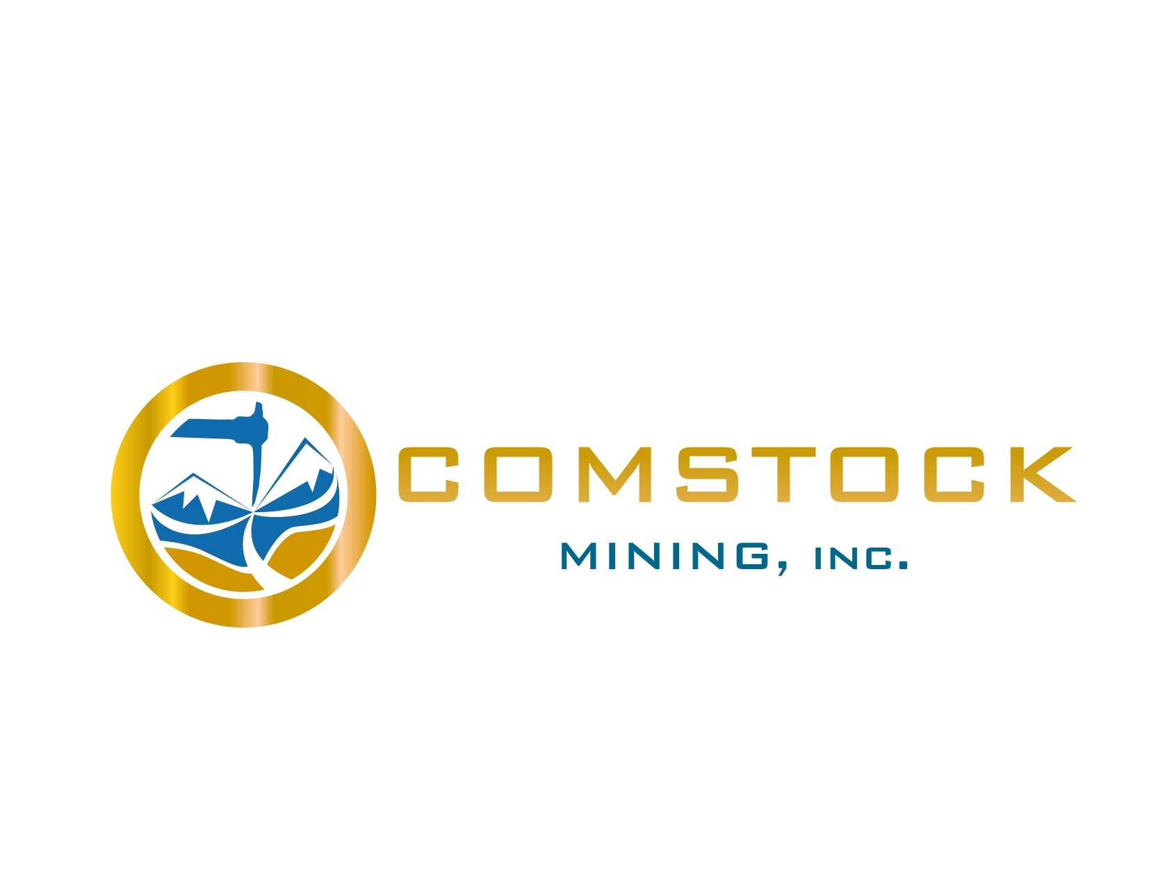 Logo Design by Reza Sasmita - Entry No. 12 in the Logo Design Contest Captivating Logo Design for Comstock Mining, Inc..