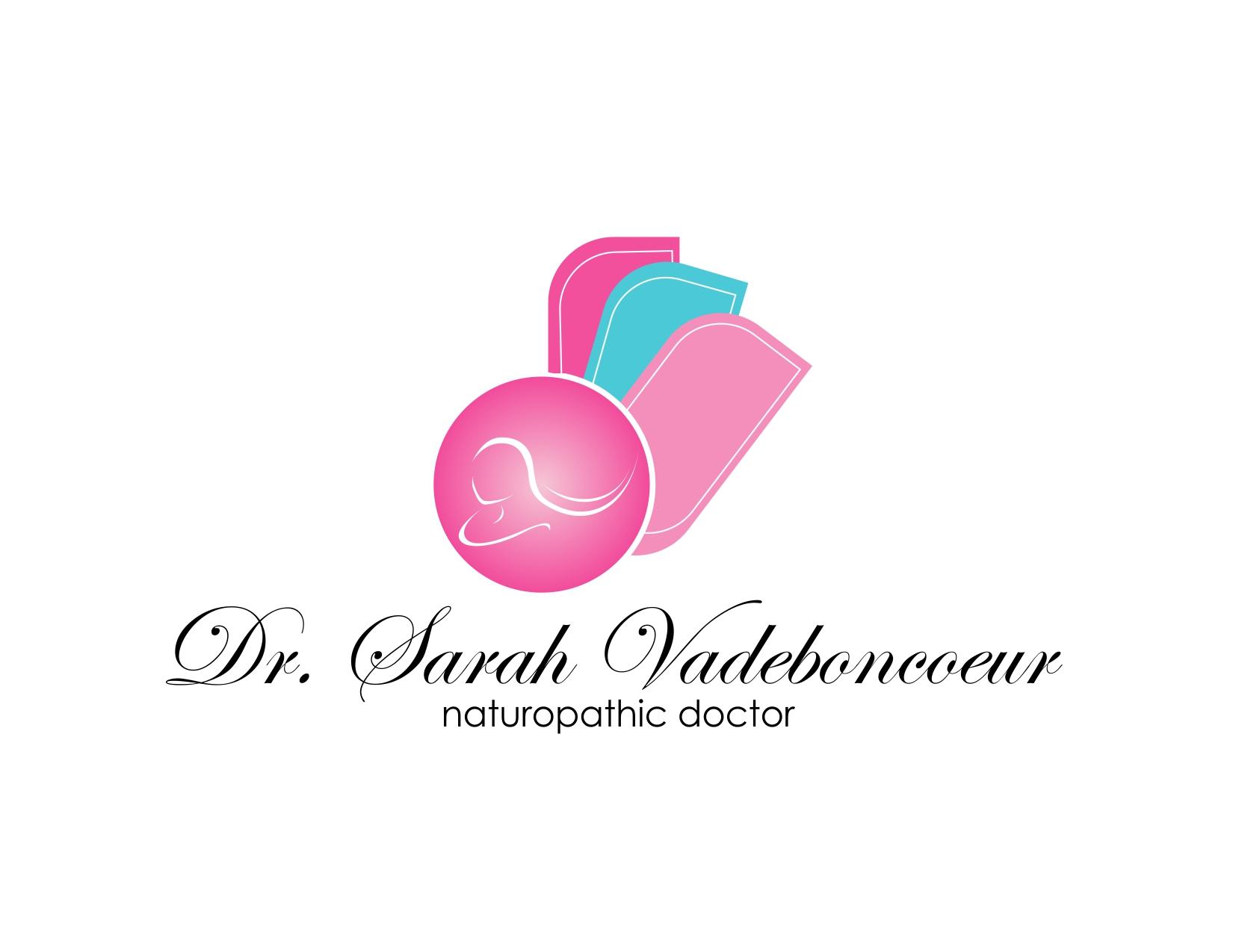 Logo Design by Reza Sasmita - Entry No. 57 in the Logo Design Contest New Logo Design for Dr. Sarah Vadeboncoeur, Naturopathic Doctor.