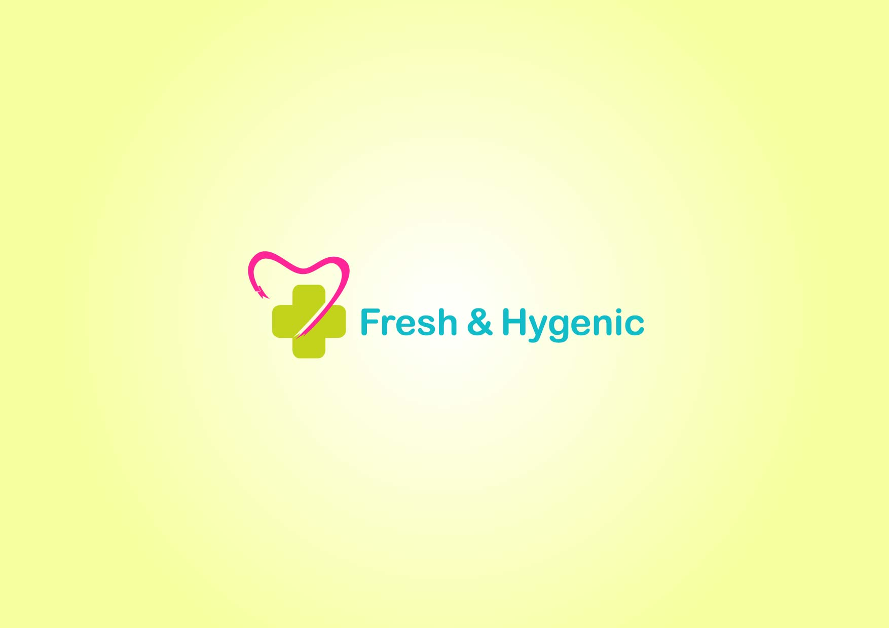 Logo Design by Osi Indra - Entry No. 64 in the Logo Design Contest Fun Logo Design for Fresh & Hygenic.