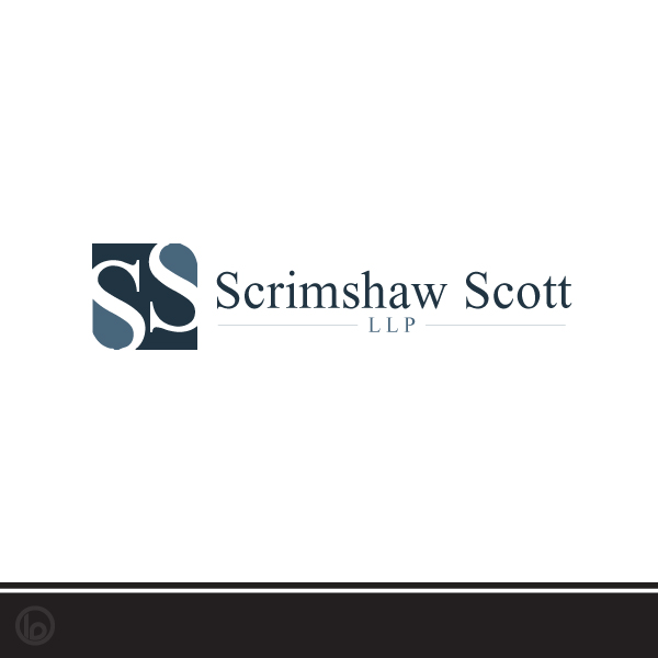 Logo Design by lumerb - Entry No. 96 in the Logo Design Contest Creative Logo Design for Scrimshaw Scott LLP.