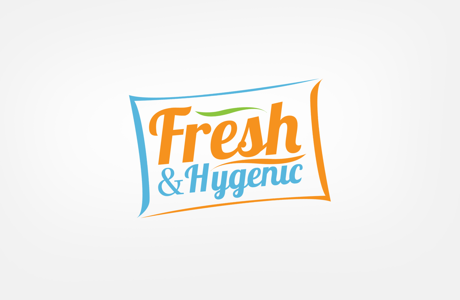 Logo Design by Jan Chua - Entry No. 66 in the Logo Design Contest Fun Logo Design for Fresh & Hygenic.