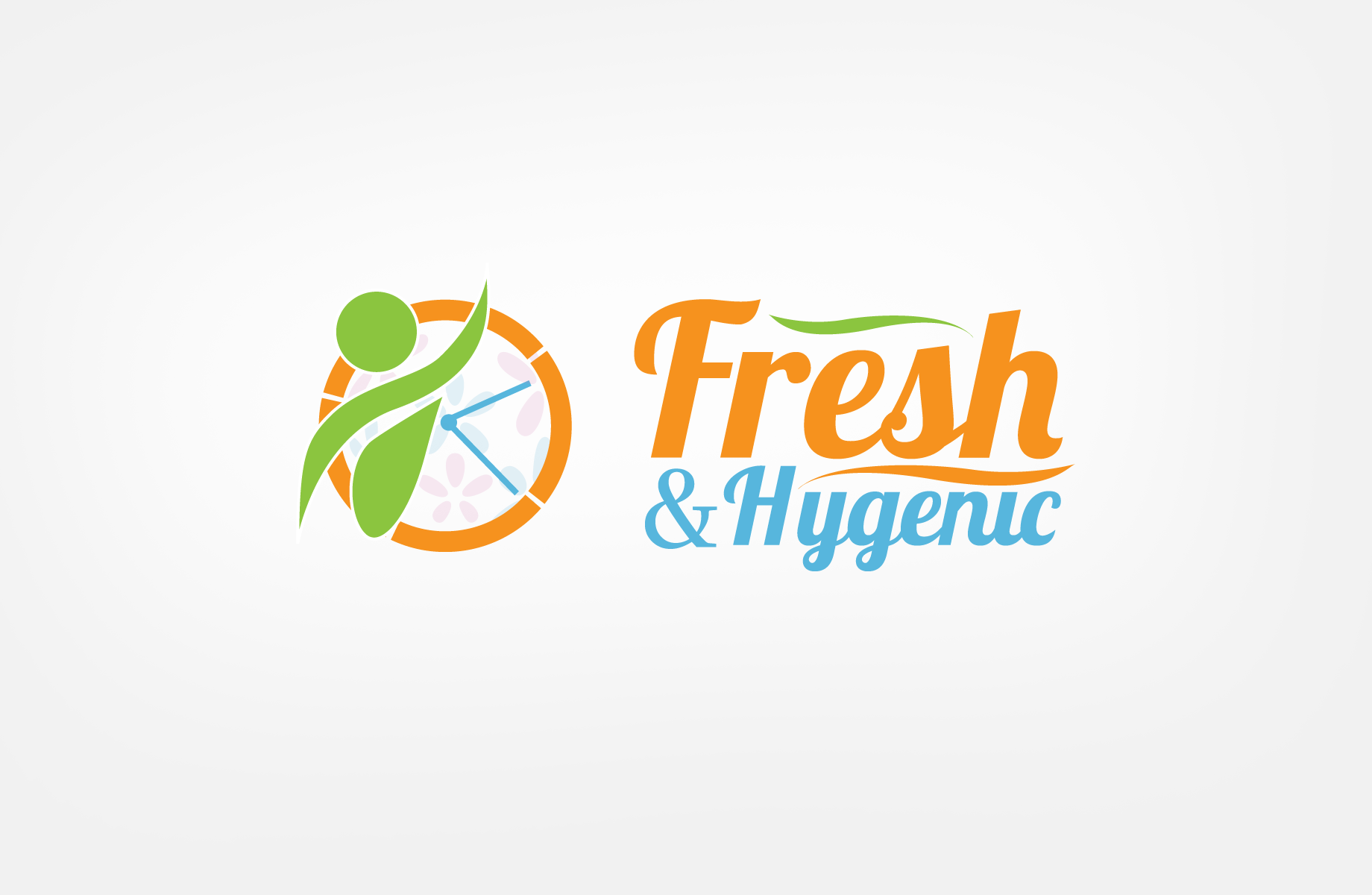 Logo Design by Jan Chua - Entry No. 67 in the Logo Design Contest Fun Logo Design for Fresh & Hygenic.
