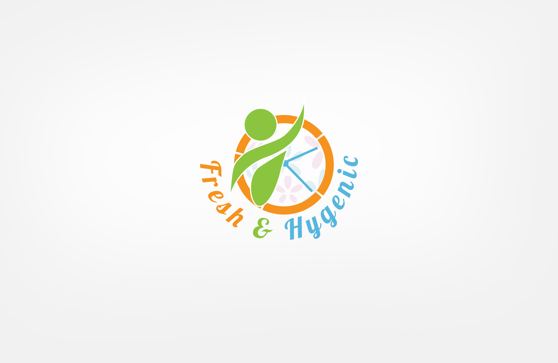 Logo Design by Jan Chua - Entry No. 68 in the Logo Design Contest Fun Logo Design for Fresh & Hygenic.